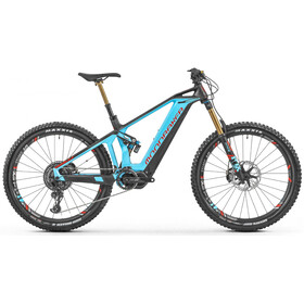 Mondraker Crusher XR+ Bicicletta elettrica Full Suspension blu/nero
